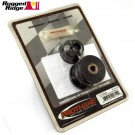 Track Bar Bushings, Black, Front, 97-06 Jeep Wrangler