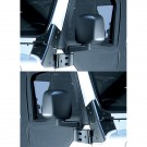 Door Mirror Kit, Black, 87-06 Jeep Wrangler