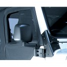 Door Mirror, Black, Right Side, 87-06 Jeep Wrangler