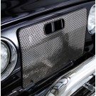 Radiator Bug Shield, Stainless Steel, 97-06 Jeep Wrangler