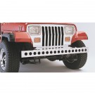 Stainless Steel Front Bumper, 87-95 Jeep Wrangler (YJ)