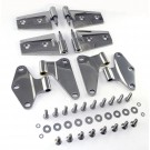 Door Hinge Kit, Stainless Steel, 07-15 Jeep Wrangler (JK)