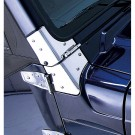 Windshield Hinges, Stainless Steel, 97-06 Jeep Wrangler (TJ)