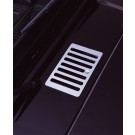 Cowl Vent Cover, Stainless Steel, 98-06 Jeep Wrangler (TJ)