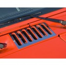Cowl Vent Cover, Stainless Steel, 07-15 Jeep Wrangler (JK)