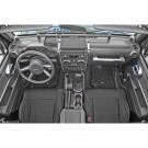 Interior Trim Accent Kit, Chrome, 07-10 Jeep Wrangler Unlimited (JK)