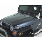 Complete Hood Kit, Satin Stainless Steel, 98-06 Jeep Wrangler (TJ)