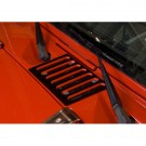 Cowl Vent Cover, Black, 07-15 Jeep Wrangler (JK)
