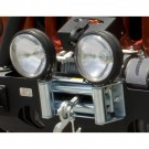 Roller Fairlead with Offroad Light Mounts