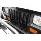 Grille Inserts, Black, 87-95 Jeep Wrangler (YJ)