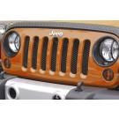 Mesh Grille Insert, Black, 07-15 Jeep Wrangler (JK)