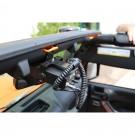 CB Radio Mount, 07-15 Jeep Wrangler (JK)