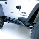 RRC Rocker Guards, Black, 87-06 Jeep Wrangler