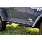 Heavy Duty Rocker Panel Guards, 97-06 Jeep Wrangler (TJ)