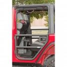 Rear Tube Doors, Textured Black, 07-15 Jeep Wrangler Unlimited (JK)