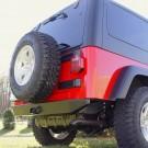 Rock Crawler Rear Bumper, 97-06 Jeep Wrangler