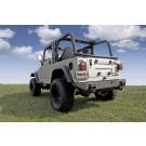 XHD Rear Bumper, 76-06 Jeep CJ and Wrangler