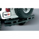 3-Inch Double Tube Rear Bumper, 87-06 Jeep Wrangler