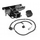 Receiver Hitch Kit, 07-15 JK with Jeep Plug