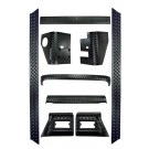 9-Piece Full Body Armor Kit, 97-06 Jeep Wrangler (TJ)