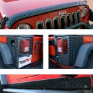 5-Piece Body Armor Guard Kit, 07-15 Jeep Wrangler (JK)