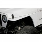 RRC Tubular Steel Flat Fender Kit, 97-06 Jeep Wrangler
