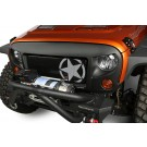 Spartan Grille Kit, Star, 07-16 Jeep Wrangler