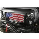 Spartan Grille Kit, American Flag, 07-16 Wrangler