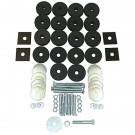 Body Tub Mounting Kit, 41-75 Willys and Jeep Models