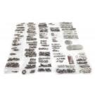 Body Fastener Kit, Tailgate, 55-75 Jeep CJ5 and CJ6