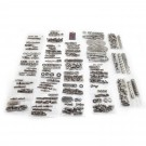 Body Fastener Kit, Soft Top, 87-95 Jeep Wrangler (YJ)