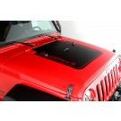 Hood Decal, Rugged Ridge, 07-15 Jeep Wrangler