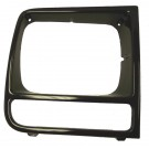 RH Neutral Headlight Bezel, 97-01 Jeep Cherokee (XJ)