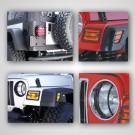 Euro Guard Light Kit, 97-06 Jeep Wrangler (TJ)