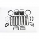 Euro Guard Light Kit, 97-06 Jeep Wrangler