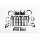 Euro Guard Light Kit, 97-06 Jeep Wrangler