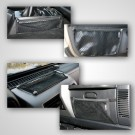 Interior Mesh Storage Kit, 97-06 Jeep Wrangler