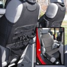 Neoprene Seat Vests, Black, 07-15 Jeep Wrangler (JK)