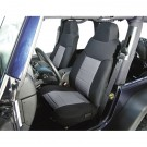 Fabric Front Seat Covers, 03-06 Jeep Wrangler (TJ)