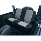 Neoprene Rear Seat Covers, 80-95 Jeep CJ and Wrangler