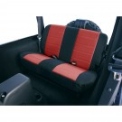 Neoprene Rear Seat Covers, 80-95 Jeep CJ and Wrangler
