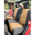 Neoprene Rear Seat Cover, 07-15 Jeep Wrangler Unlimited (JK)