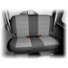Neoprene Rear Seat Cover, Black and Gray, 07-15 Jeep Wrangler (JK)