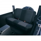 Fabric Rear Seat Covers, 80-95 Jeep CJ and Wrangler