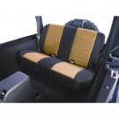 Fabric Rear Seat Covers, 03-06 Jeep Wrangler (TJ)