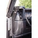 CB Radio Dash Mount, 97-06 Jeep TJ, LJ Wrangler