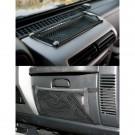 Glove Box And Trail Dash Net Kit, 97-06 Jeep Wrangler