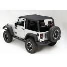 Mesh Island Top, 10-15 Jeep Wrangler (JK)