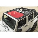 Eclipse Sun Shade, Front, Red, 07-16 Jeep Wrangler