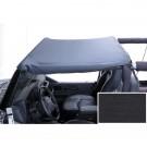Summer Brief Header, Black Denim, 97-06 Jeep Wrangler